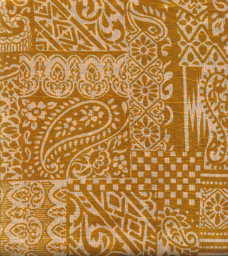 Printed Dupian Silk Saree